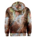 Tarantula Nebula Central Portion Men s Zipper Hoodie View2