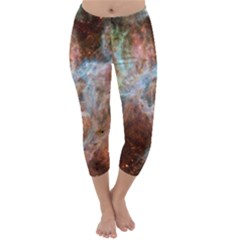 Tarantula Nebula Central Portion Capri Winter Leggings