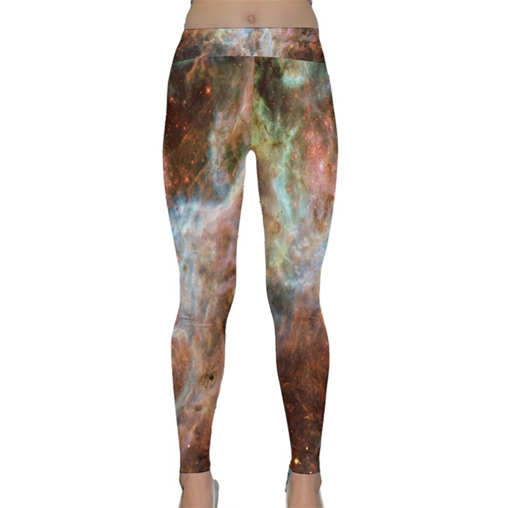 Tarantula Nebula Central Portion Yoga Leggings