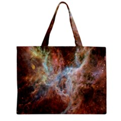 Tarantula Nebula Central Portion Zipper Mini Tote Bag