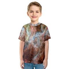 Tarantula Nebula Central Portion Kids  Sport Mesh Tee