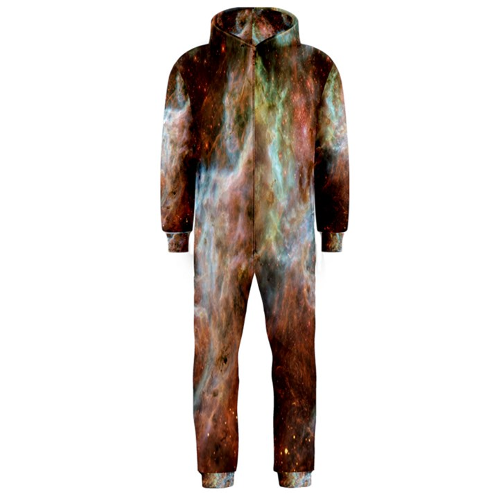 Tarantula Nebula Central Portion Hooded Jumpsuit (Men)