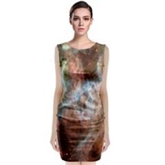 Tarantula Nebula Central Portion Classic Sleeveless Midi Dress