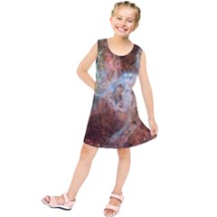 Tarantula Nebula Central Portion Kids  Tunic Dress