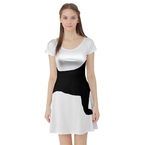 Akita Silo2 Short Sleeve Skater Dress