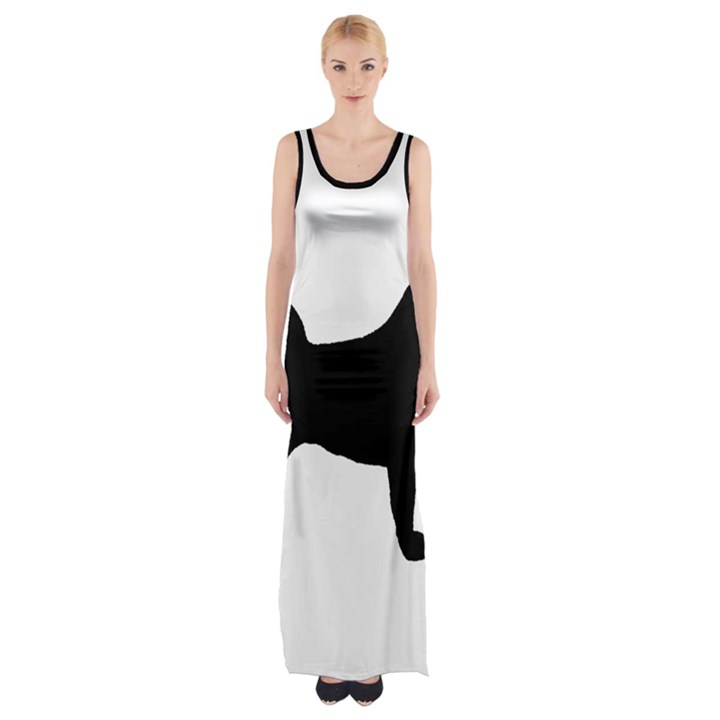 Akita Silo2 Maxi Thigh Split Dress