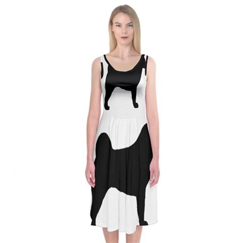 Akita Silo2 Midi Sleeveless Dress