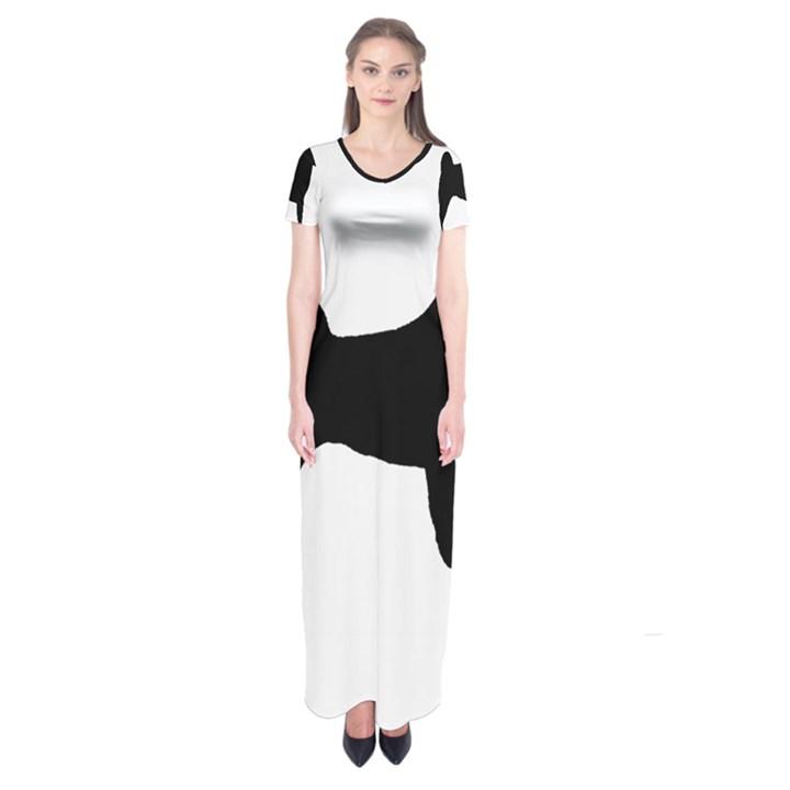 Akita Silo2 Short Sleeve Maxi Dress