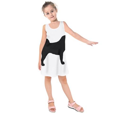 Akita Silo2 Kids  Sleeveless Dress
