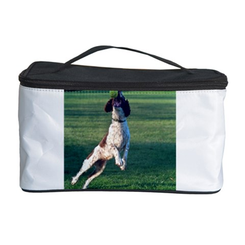 English Springer Catching Ball Cosmetic Storage Case