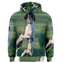 English Springer Catching Ball Men s Pullover Hoodie View1