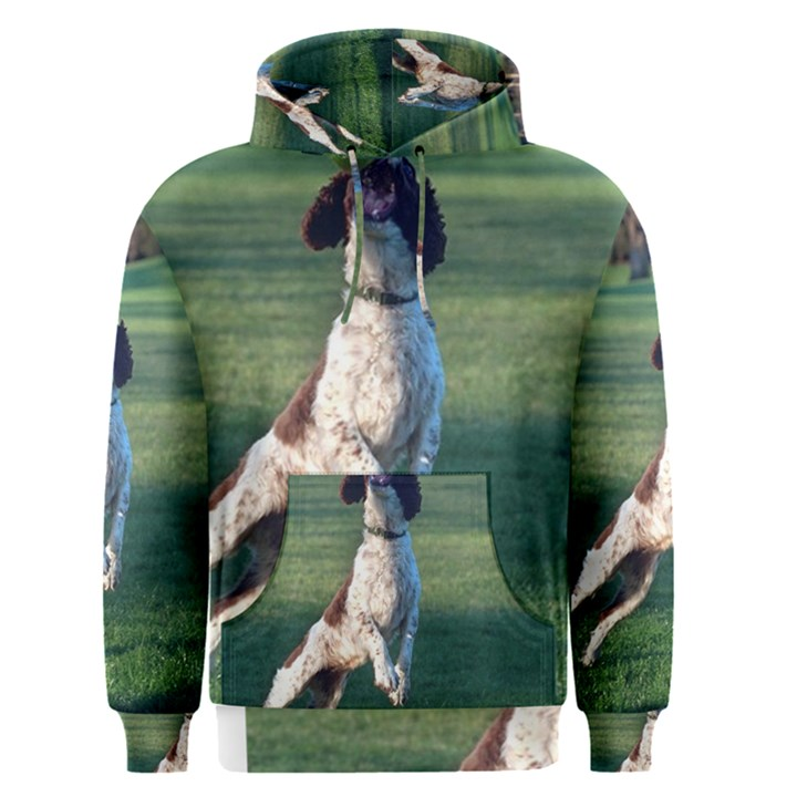 English Springer Catching Ball Men s Pullover Hoodie