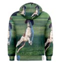 English Springer Catching Ball Men s Pullover Hoodie View2