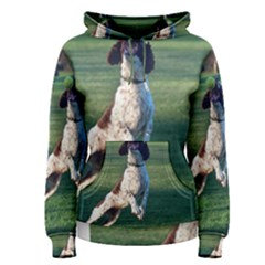 English Springer Catching Ball Women s Pullover Hoodie