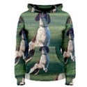 English Springer Catching Ball Women s Pullover Hoodie View1