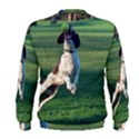English Springer Catching Ball Men s Sweatshirt View2