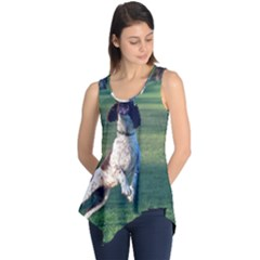 English Springer Catching Ball Sleeveless Tunic