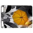 Umbrella Yellow Black White Kindle Touch 3G View1