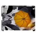 Umbrella Yellow Black White Apple iPad 3/4 Hardshell Case (Compatible with Smart Cover) View1