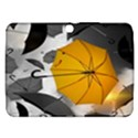 Umbrella Yellow Black White Samsung Galaxy Tab 3 (10.1 ) P5200 Hardshell Case  View1