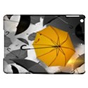 Umbrella Yellow Black White iPad Air Hardshell Cases View1