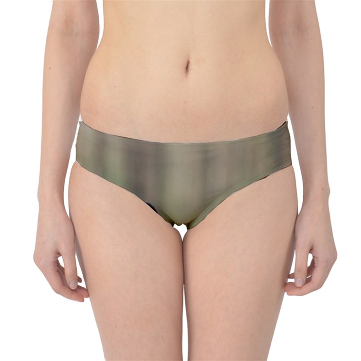 French Bulldog Peeking Puppy Hipster Bikini Bottoms