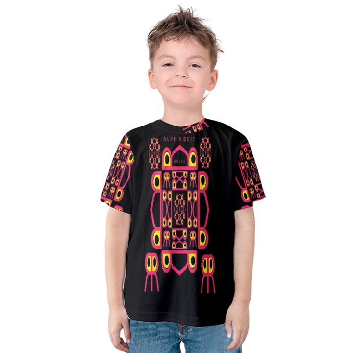 Alphabet Shirt Kids  Cotton Tee