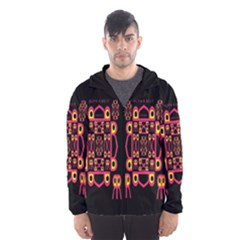 Alphabet Shirt Hooded Wind Breaker (men)
