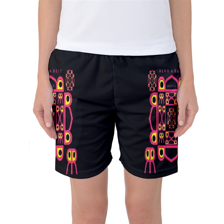 Alphabet Shirt Women s Basketball Shorts