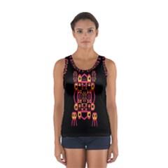 Alphabet Shirt Women s Sport Tank Top
