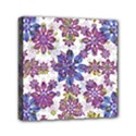 Stylized Floral Ornate Pattern Mini Canvas 6  x 6  View1