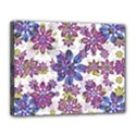 Stylized Floral Ornate Pattern Canvas 14  x 11  View1