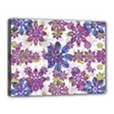 Stylized Floral Ornate Pattern Canvas 16  x 12  View1