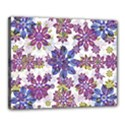 Stylized Floral Ornate Pattern Canvas 20  x 16  View1