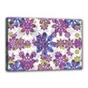 Stylized Floral Ornate Pattern Canvas 18  x 12  View1