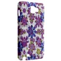 Stylized Floral Ornate Pattern Samsung Galaxy Note 1 Hardshell Case View2
