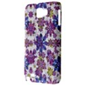 Stylized Floral Ornate Pattern Samsung Galaxy Note 1 Hardshell Case View3