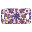 Stylized Floral Ornate Pattern HTC One S Hardshell Case  View1