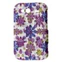 Stylized Floral Ornate Pattern HTC Wildfire S A510e Hardshell Case View3