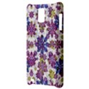 Stylized Floral Ornate Pattern Samsung Infuse 4G Hardshell Case  View3