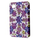 Stylized Floral Ornate Pattern Samsung Galaxy Tab 7  P1000 Hardshell Case  View3