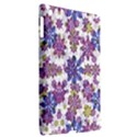 Stylized Floral Ornate Pattern Apple iPad 3/4 Hardshell Case (Compatible with Smart Cover) View2