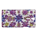 Stylized Floral Ornate Pattern Sony Xperia S View1