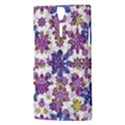 Stylized Floral Ornate Pattern Sony Xperia S View3