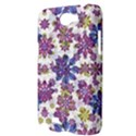 Stylized Floral Ornate Pattern Samsung Galaxy Note 2 Hardshell Case View3