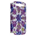 Stylized Floral Ornate Pattern Samsung Galaxy S III Hardshell Case (PC+Silicone) View2