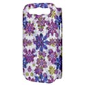 Stylized Floral Ornate Pattern Samsung Galaxy S III Hardshell Case (PC+Silicone) View3