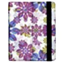Stylized Floral Ornate Pattern Apple iPad 2 Flip Case View2