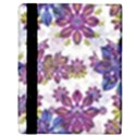Stylized Floral Ornate Pattern Apple iPad 2 Flip Case View3