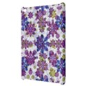 Stylized Floral Ornate Pattern Apple iPad Mini Hardshell Case View3
